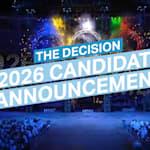 حفل الاعلان: المدينة المرشحة لاستضافة ألعاب 2026