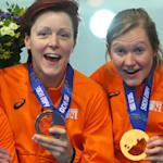 Equipe Holandesa de Patinação de Velocidade Ganha Competição