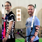Sports Swap: Archery vs Curling Swap with  Lisa Unruh & Niklas Edin