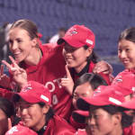 La star américaine du softball qui a trouvé son paradis au Japon