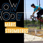 Oneshot-Action mit BMX-Superstar Maris Strombergs