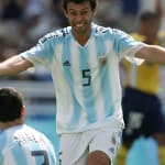 الهدف المثالي لمنتخب الأرجنتين لكرة القدم في أثينا