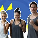 Il duo del fitness reggerà un allenamento olimpico di pugilato?