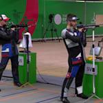 Пневм. винтовка, 10м, мужчины, финал | Стрельба - Европейские игры - Минск