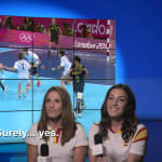Elisabeth Pinedo e Carmen Martin | Londres 2012 | Take the Mic