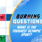 What is the toughest Olympic sport?