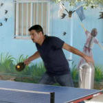 Zaatari: Syrian refugees relish the taste of home in table tennis trainings