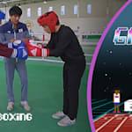 ゲーマーのパパドッグとキング・コーン、韓国のオリンピアンと拳を交える