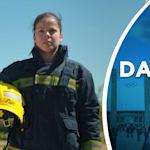 Conheça a campeã do mundo de karatê que ganha a vida como bombeiro