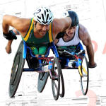 With this wheelchair Paralympians can reach a speed of 40km per hour