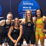 Great Britain cap off London 2019 by winning the 4x100m freestyle relay 34pts
