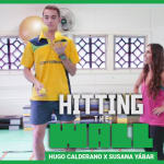 Can @SusanaYabar keep up with Hugo Calderano's table tennis speedy workout?