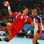 挪威女子手球队在2008年北京奥运会上的险胜