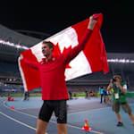 Drouin wins High Jump gold