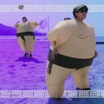 Sumo Volleyball