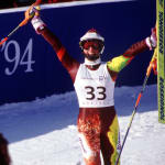 コレン、優勝候補を驚かせる滑りでスキー回転の銅メダル獲得
