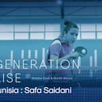 Safa Saidani: los viajes de la estrella del ping pong tunecino