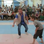 Zaatari: Syrian wrestling champion coaches refugee youth to rekindle hope
