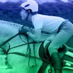 2020년 도쿄 올림픽에서의 성공을 꿈꾸는 승마선수 키르케고르
