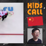 Kids watch Olympic curling for the first time