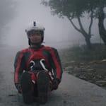 Индийский саночник готовится к Пхенчхану на склонах Гималаев