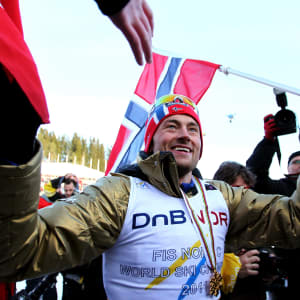 Petter Northug at the 2011 Nordic World Ski Championships in Oslo