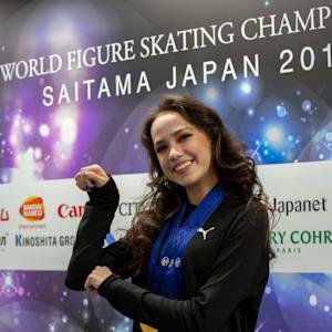 Zagitova does the 'Masaru pose'