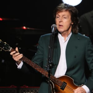 Paul McCartney performs live at the Budokan on April 28, 2015 in Tokyo, Japan.