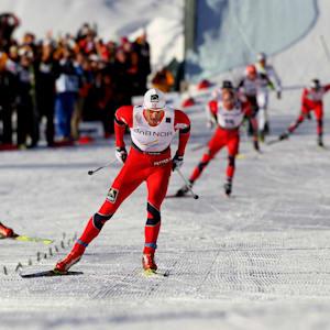 Petter Northug at the 2011 Oslo Nordic World Ski Championships