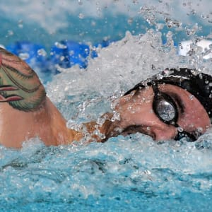 Anthony Ervin at Rio 2016