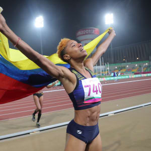 Yulimar Rojas wins Pan Am triple and breaks Caterine Ibarguen's record at Lima 2019!