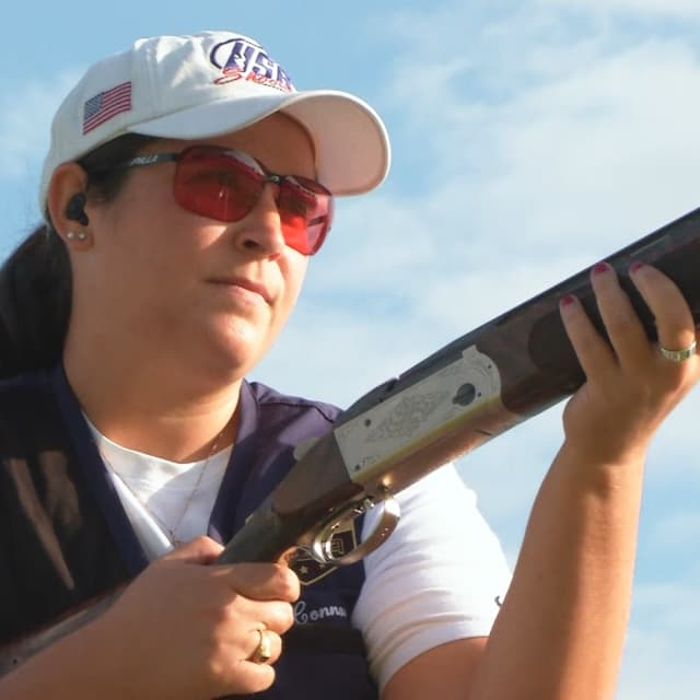 Connor leads USA podium sweep at women's skeet worlds