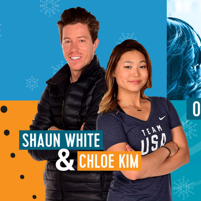 Olympic Channel Podcast com Shaun White e Chloe Kim