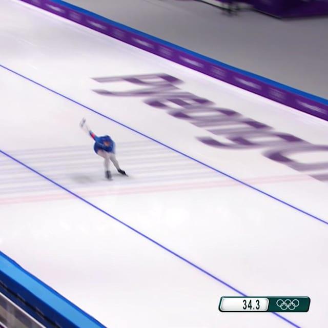 Олимпийская чемпионка Кодайра утешает кореянку после финиша
