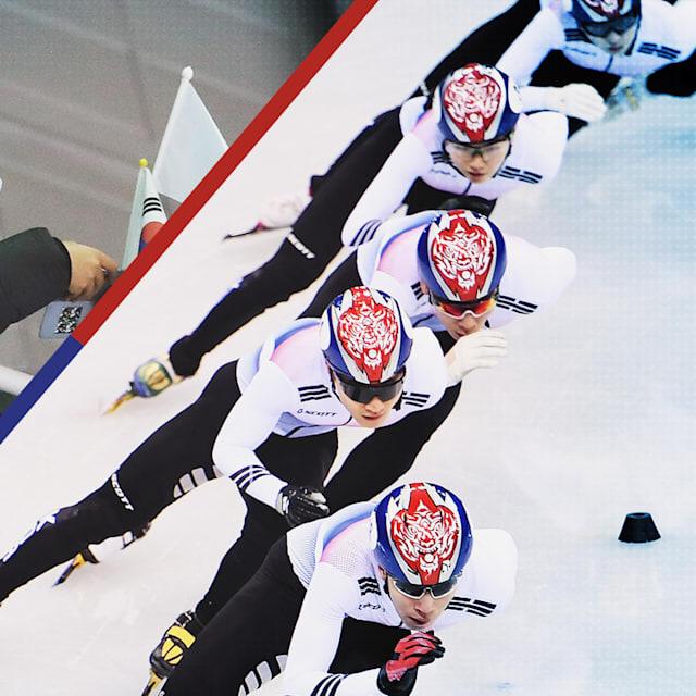 Short-Track: Une passion sud-coréenne