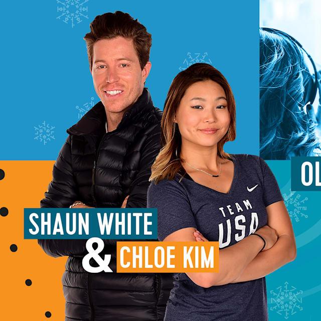 Olympic Channel Podcast con Shaun White e Chloe Kim