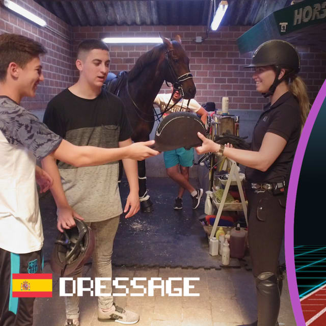 The xBuyer bros tackle dressage under the reigns of Morgan Barbancon