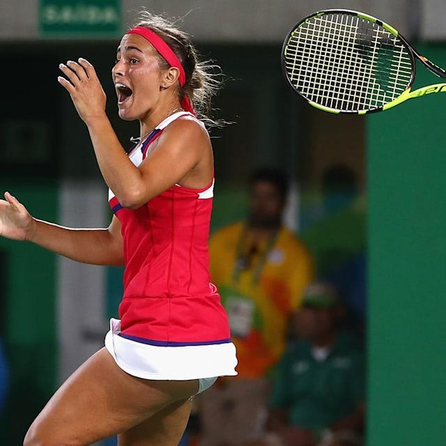 Monica Puig erlebt ihren olymp