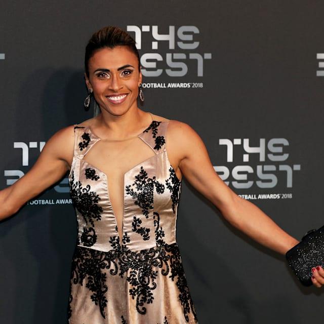 Marta wins sixth FIFA World Player of the Year award