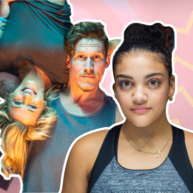 Can anyone keep up with the gymnastics workout of phenom Laurie Hernandez?