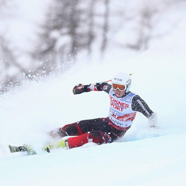 Men's Slalom - Run 2   FIS World Cup - Val d'Isere