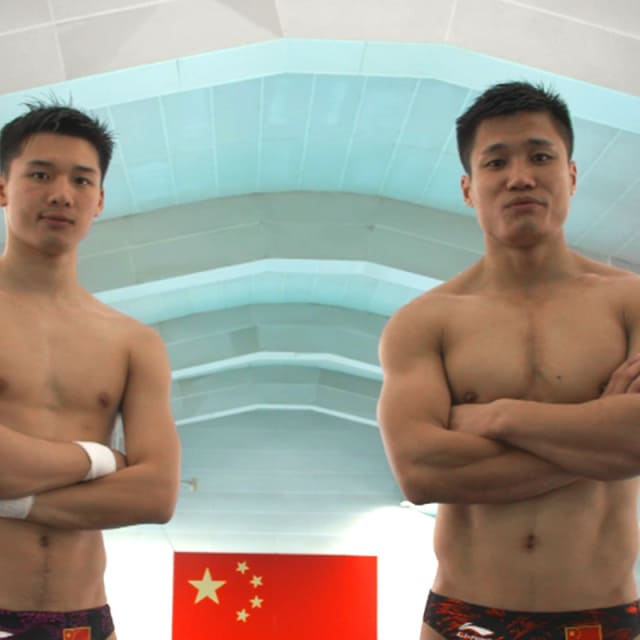 Sports Swap: Diving vs Weighlifting with Lü Xiaojun & CHEN Aisen