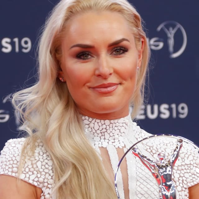 Lindsey Vonn, Simone Biles and Chloe Kim honoured at Laureus Awards