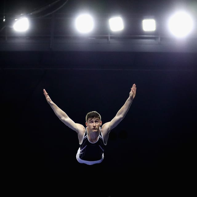 U.S. trampoline athletes press on despite U.S. Olympic Committee announcement