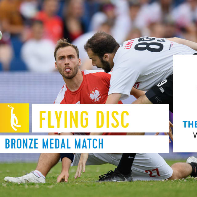 Flying Disc Bronze Medal Match - The World Games Wroclaw 2017