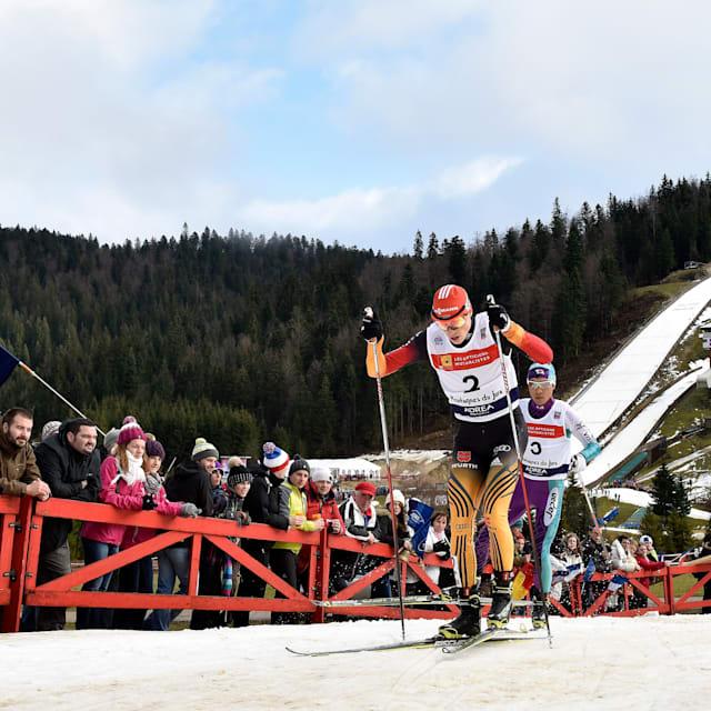 Men's Individual 15 km | FIS World Cup - Chaux Neuve
