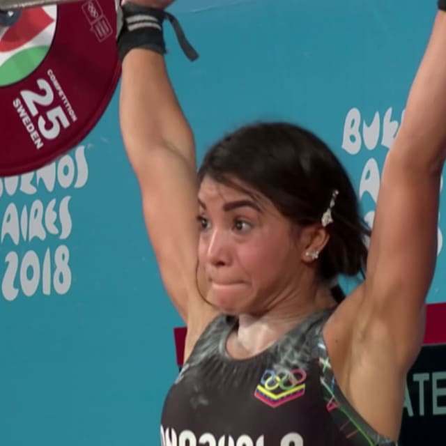 Rompedora de récords venezolana saborea su momento dorado