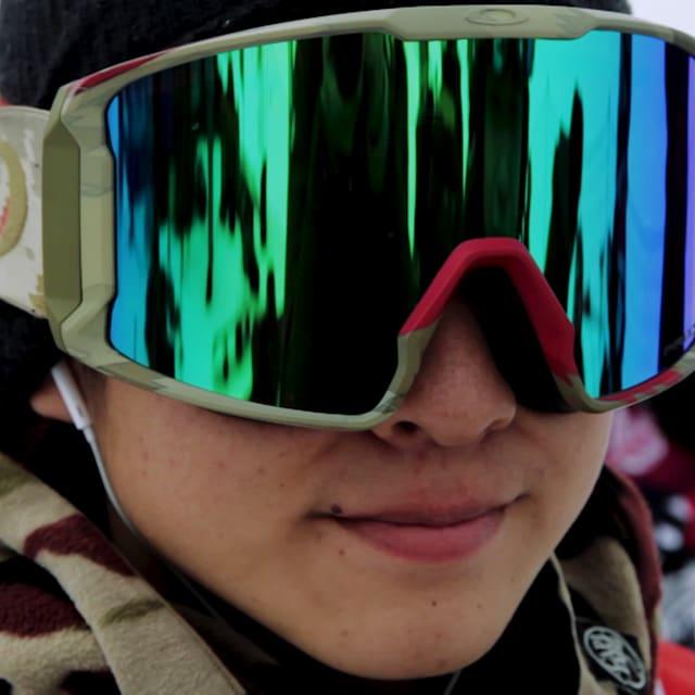 هل كايشو هو النجم الصاعد في التزلج على الثلوج؟