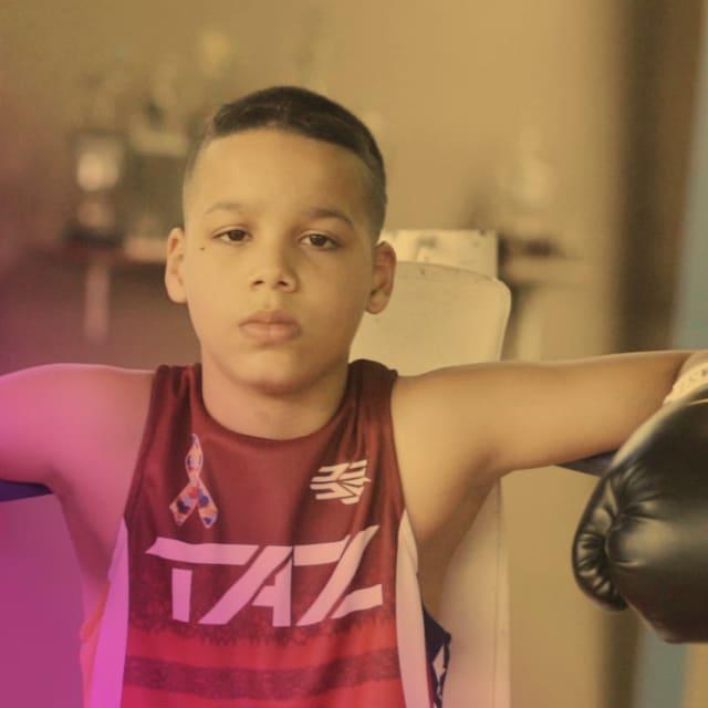 Este prodigio del boxeo de 13 años es el próximo campeón de Puerto Rico