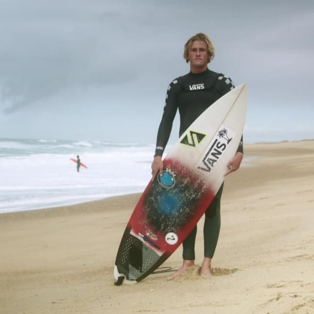 The surfer who left his landlocked home in search of waves